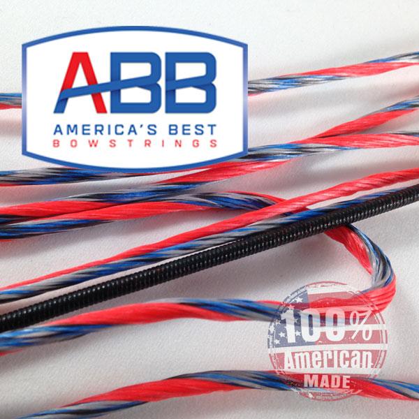 Mission Craze Bow String /& Cable Set par 60X Custom Cordes Bowstring