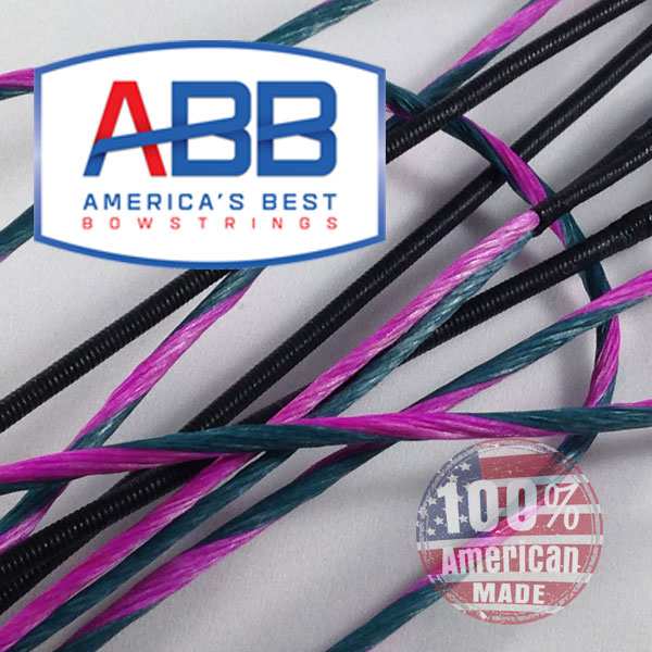 ABB Custom replacement bowstring for PSE 2018 Perform X 3D W/roller guard serving Bow