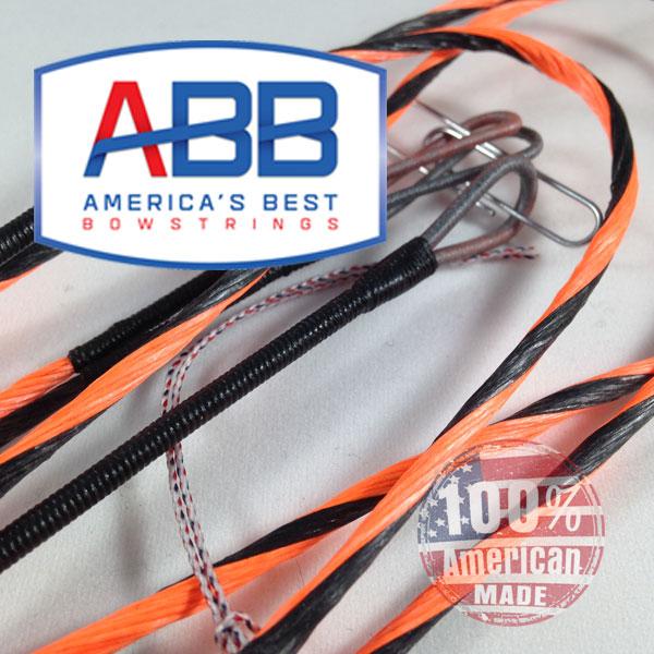 ABB Custom replacement bowstring for PSE Nock On EVO NTN 33 EC cam Bow