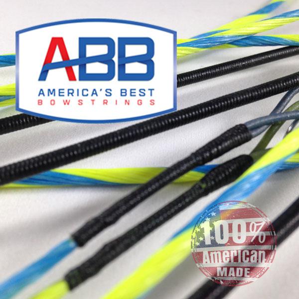 ABB Custom replacement bowstring for Hoyt Mongeta Cam & 1/2 plus #3 cam Bow