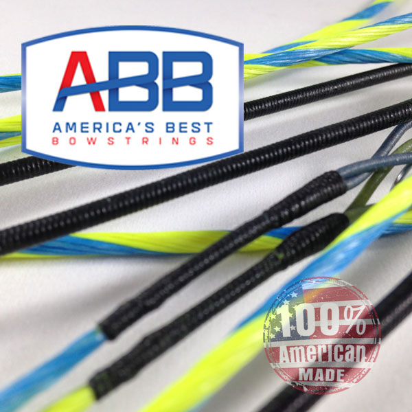 ABB Custom replacement bowstring for Hoyt 2013-14 Pro Comp Elite XL Spiral X # 4.5 - 5.5 Bow