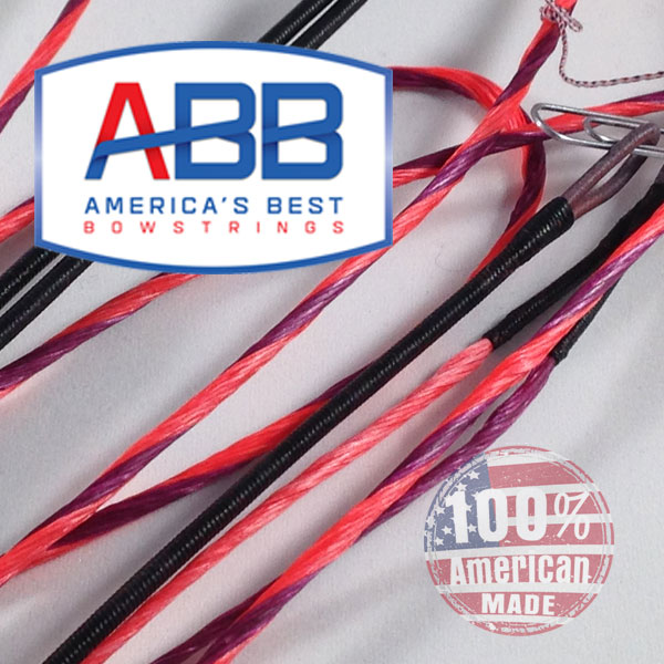 ABB Custom replacement bowstring for Hoyt 2013-14 Pro Comp Elite XL Spiral X # 7.5 - 8 Bow