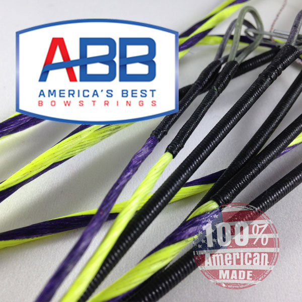 ABB Custom replacement bowstring for Hoyt Ultra Tec Wheel & 1/2 6 1/2 - 8 Bow