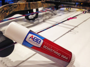 The best crossbow string wax by ABB.