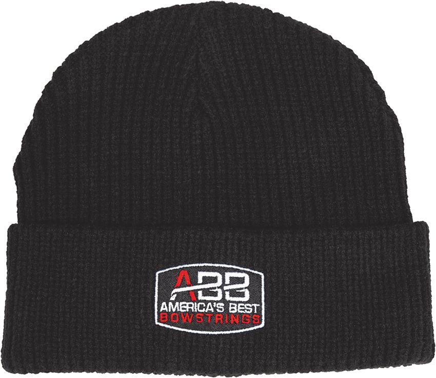 Abb Alpine Knit Hat Black Americas Best Bowstrings Abb